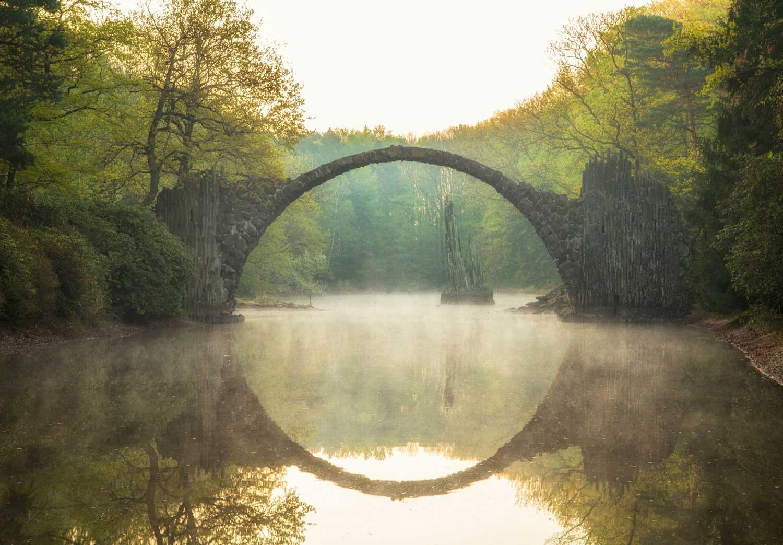 Trip zur Rakotzbrücke im Kromlauer Park