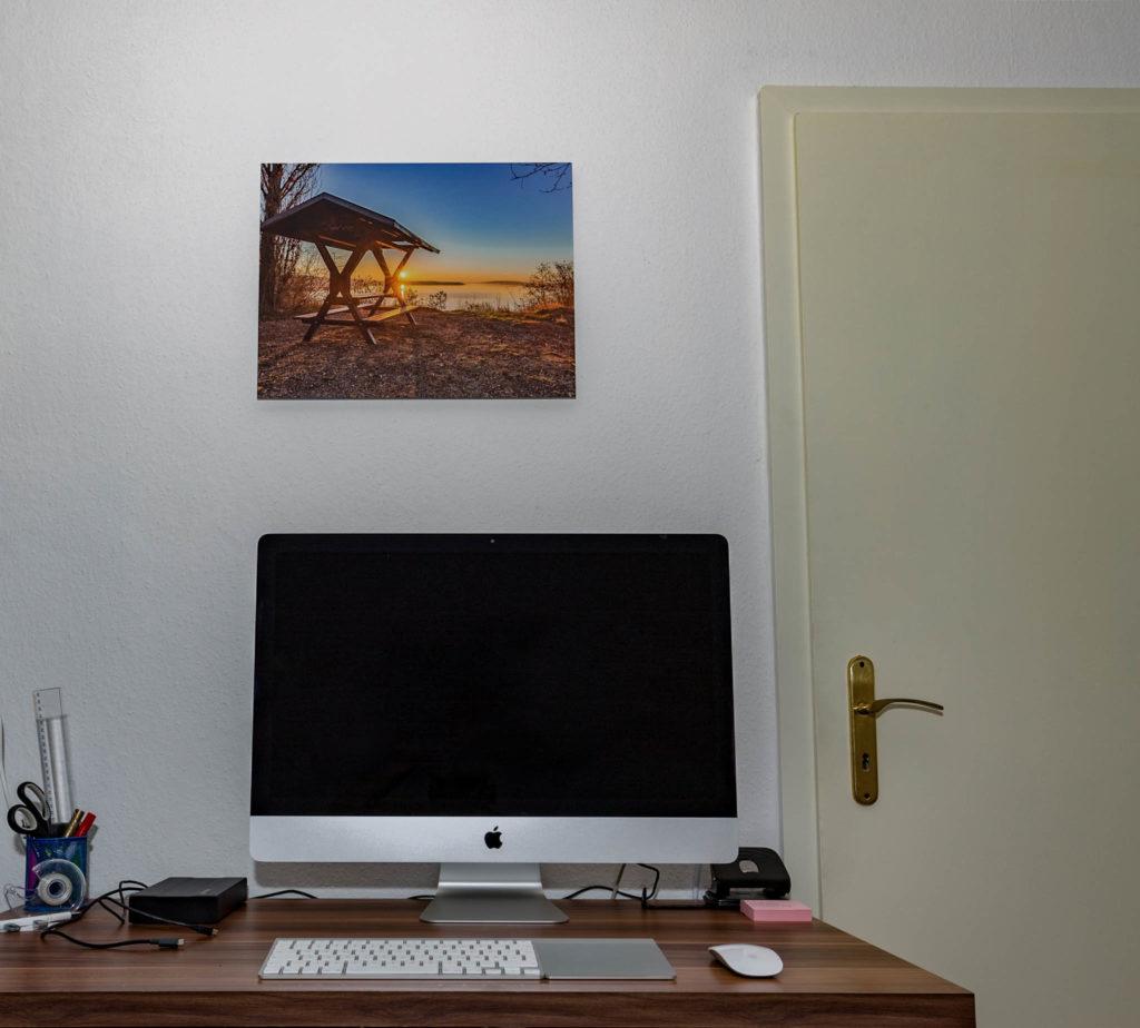 Saal Digital Wandbild Ergebnis