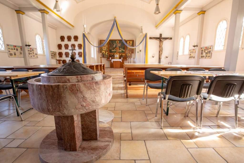 Geiseltalseekirche Innen