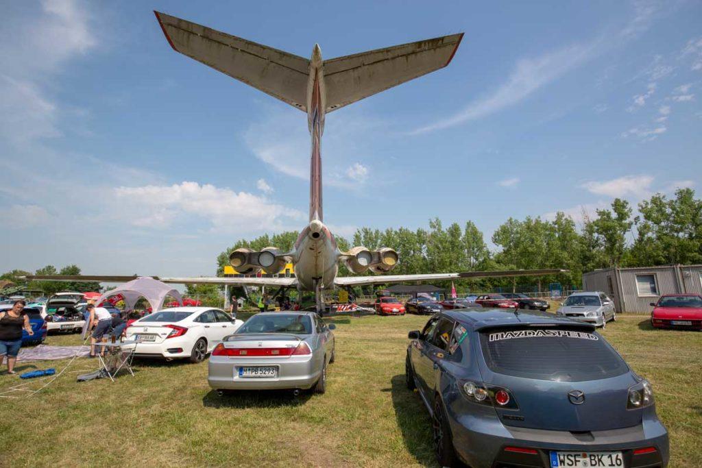 Flugzeug Airpark Merseburg
