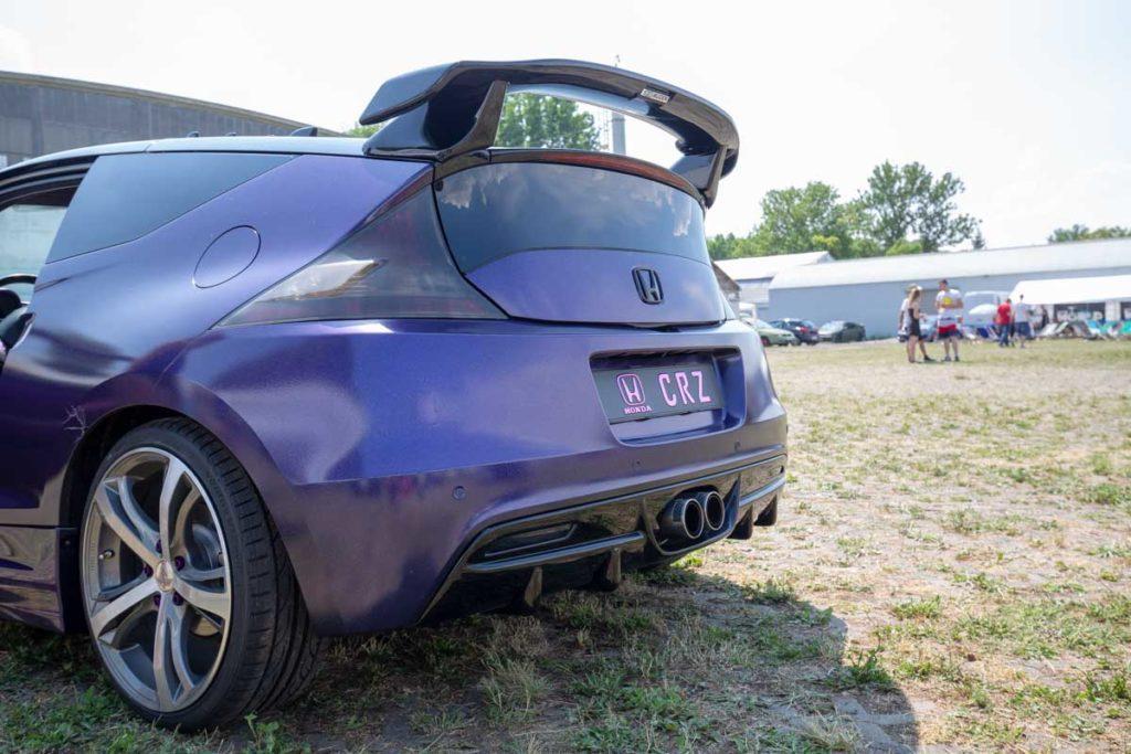 Honda CRZ lila
