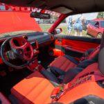 Innenraum rot schwarz