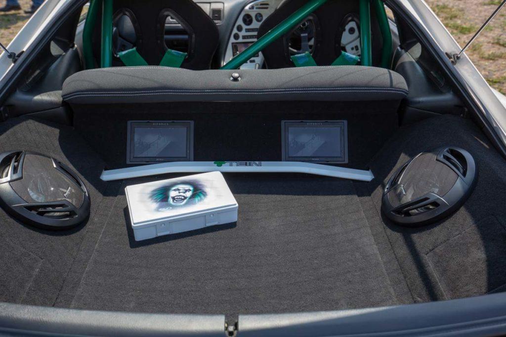 Kofferraum Bildschirme