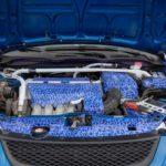 Motor Blue White