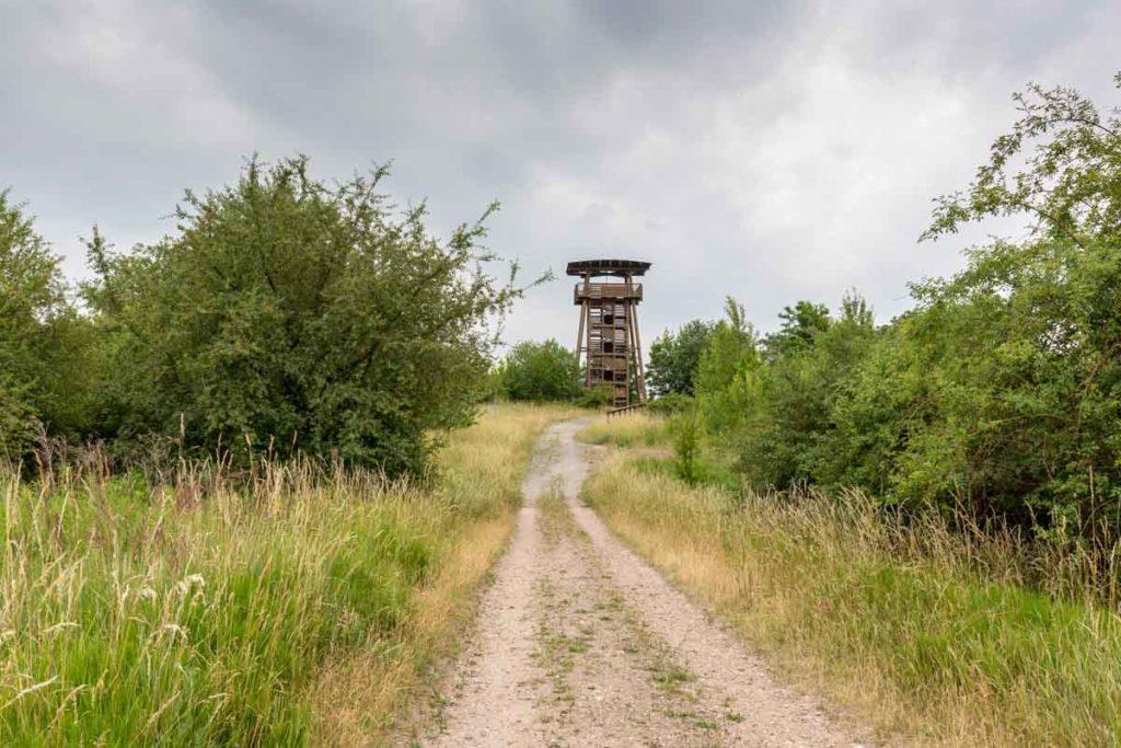 Aussichtsturm in Klobikau