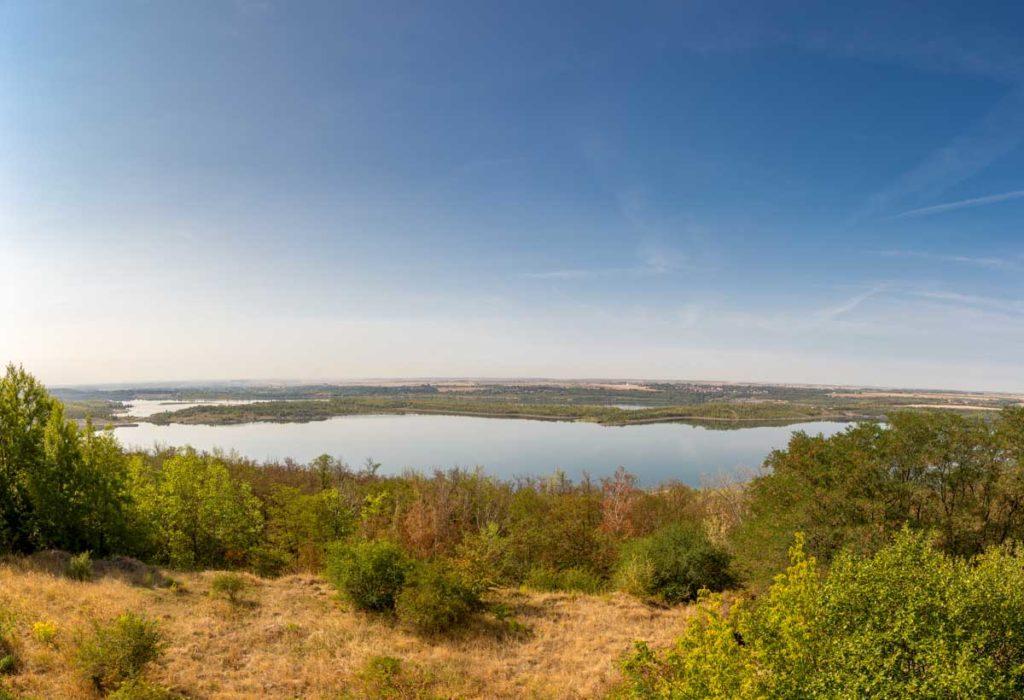 Geiseltalsee Panorama Aussichtsturm