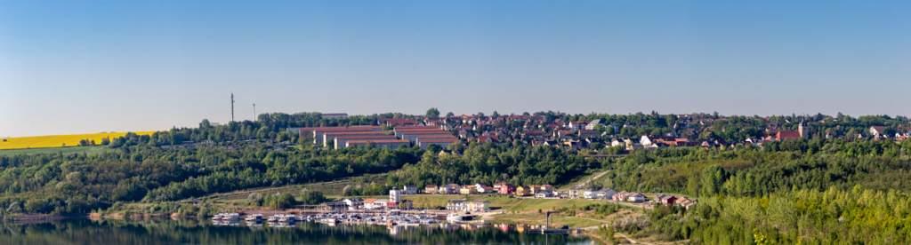 Panorama von Mücheln Geiseltal