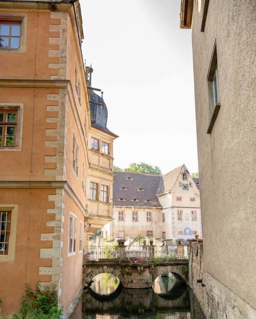 Wasserschloss Innenhof