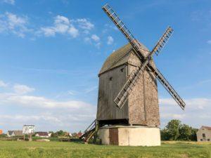 Bild 0048   Bockwindmühle in Langeneichstädt