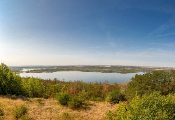 Bild 0004   Panorama vom Geiseltalsee