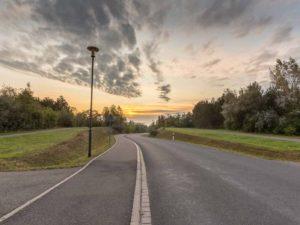 Bild 0013 | Zufahrtsstraße zur Marina Mücheln